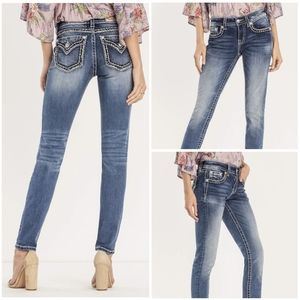 Miss Me City Limits Mid-Rise Skinny Jeans